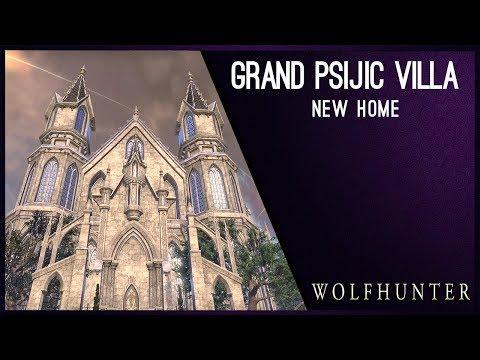 Grand Psijic Villa New House - Wolfhunter DLC
