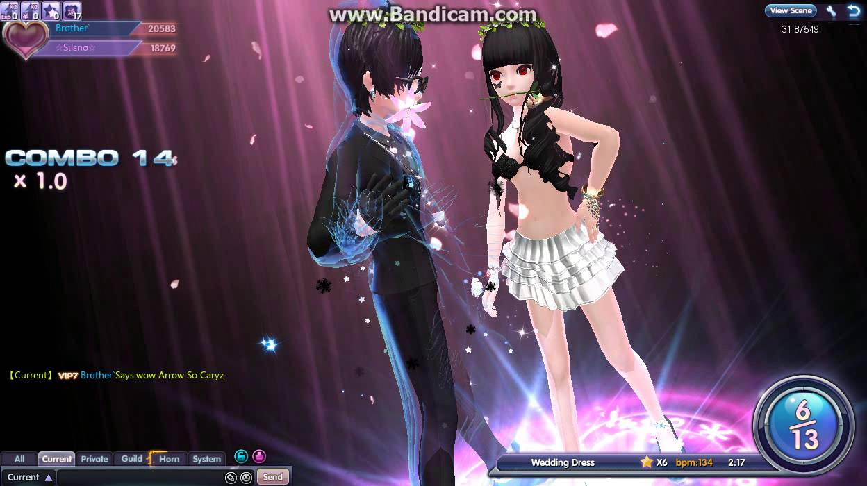 Touch 3claws Wedding Dress Couple Dance With Br Ther