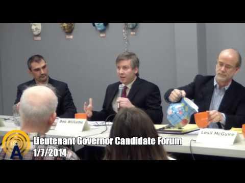 Alaska Lieutenant Governor Candidate Forum - 1/7/2014