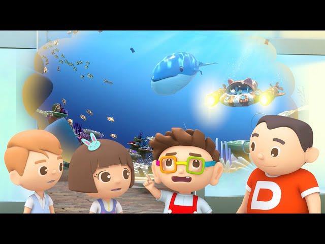 第十八集「魷魚育嬰室」—【咚咚仔3D動畫系列】第二季