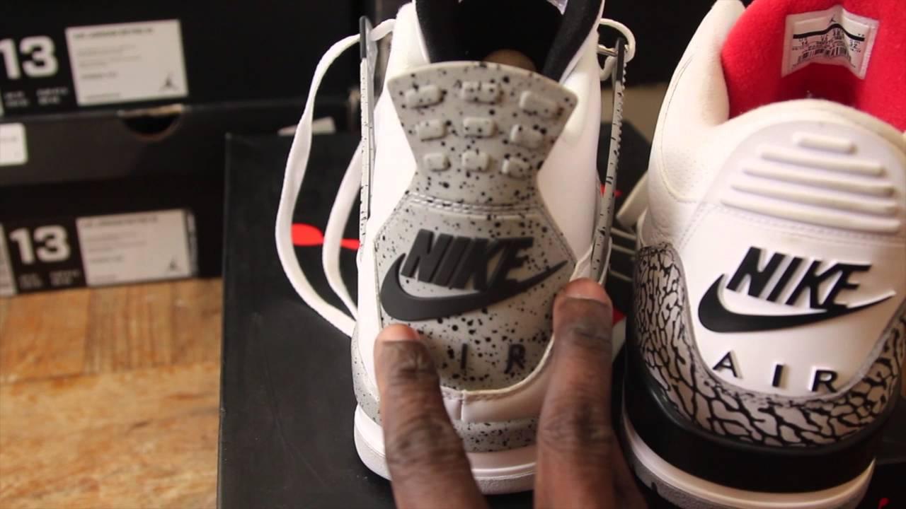 online store f5644 cdc80 2013 Nike Air Jordan 3 s White Cement