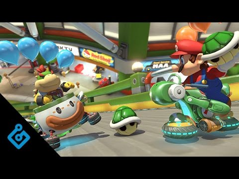 Two Rounds Of Mario Kart 8 Deluxe's New Battle Mode On Switch