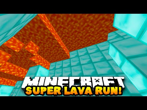 CAN YOU ESCAPE DEATH?!  | Minecraft SUPER LAVA RUN with THE PACK!