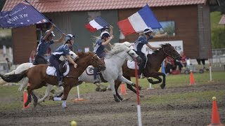 Mounted games French Champion: Just Doués Lamotte 2016 BA