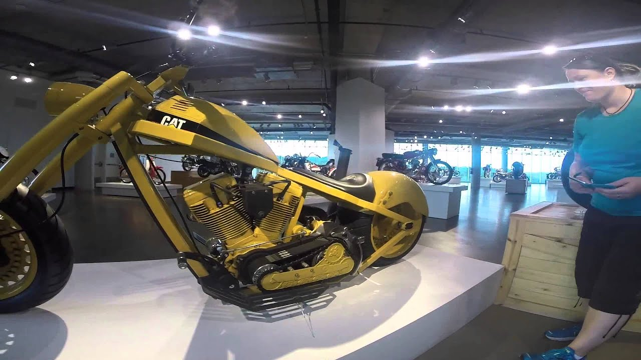 QueenBee does Barber Vintage Motorsports Museum Part 1 - YouTube