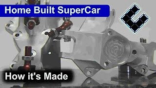 Home built super car, Building the Up Rights