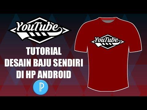 Cara Desain Kaos Distro dengan HP Android - PicsArt tutorial Indonesia Download: Gambar:....