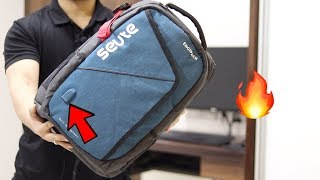 Seute Engipack with USB Port & Rain Cover | Tech Unboxing 🔥