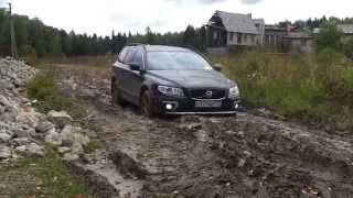 Volvo XC70& Mitsubich Pajero allroad
