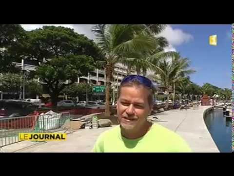 Papeete new look : Une marina, une promenade et des cocotiers