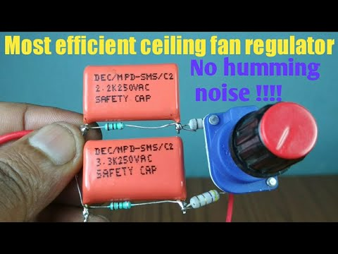Most efficient ceiling fan regulator || Humming free || Less heat