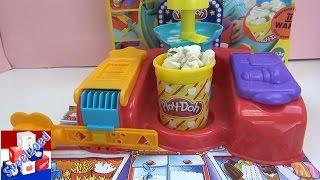 Zelf popcorn maken van klei - PlayDoh Poppin Movie Snacks popcorn machine