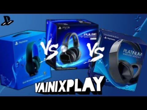 Unboxing Dos headset Gold, Pulse Elite, Platinum