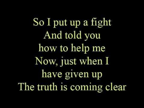 Better than I  lyrics