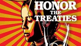 HONOR THE TREATIES by Eric Becker (2012)