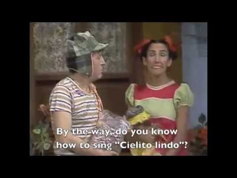 Chespirito, Chavo Del Ocho, Momento Cómico (Subtitles)