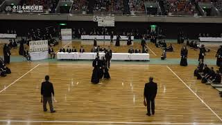 FUKUI vs KAGAWA 67th All Japan Interprefecture KENDO Championship 2019 1st Round