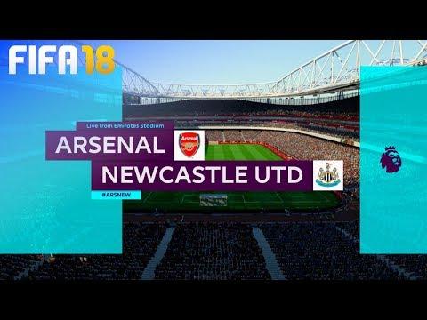 FIFA 18 - Arsenal vs. Newcastle United @ Emirates Stadium