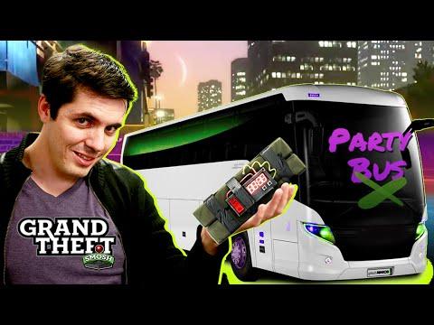 SUICIDE PARTY BUS! (Grand Theft Smosh)
