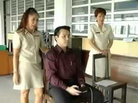 Thai Drive Test  การสอบใบขับขี่รถยนต์ ไทย 2549 ร่างกาย