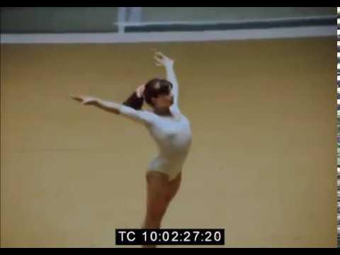 1976 FRA-ROM Teodora Ungureanu compulsory FX