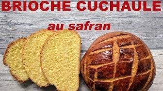 Une brioche au safran: la cuchaule (Suisse)