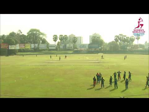Pakistan v Bangladesh, ICC Women's World Cup Qualifier, 2017