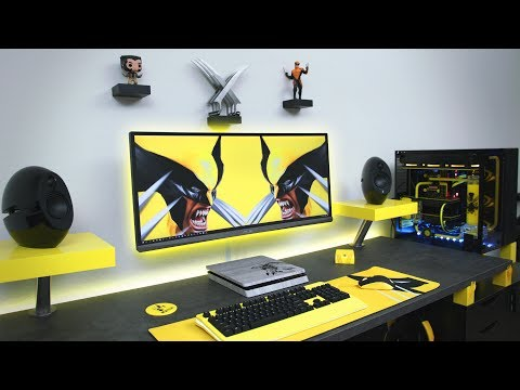 Ultimate Desk Setup | Wolverine Edition