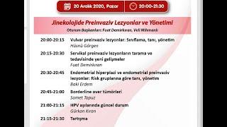 20 Aralık 2020 Jinekolojide Preinvaziv Lezyonlar ve Yönetimi
