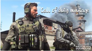 Call of duty multiplayer Minitage