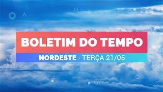 Previsão Nordeste – Chuva a qualquer hora em Salvador