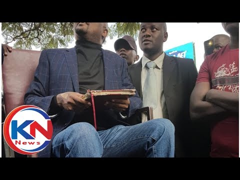 Moses Kuria gets rousing welcome in Kisumu, slams handshake critics