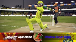 #50 CSK vs SRH Chennai super kings vs Sunrisers Hyderabad Universal Championship Cricket 19 IPL 2020