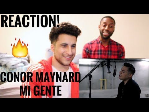 Conor Maynard | J. Balvin, Willy William - Mi Gente | (REACTION!)