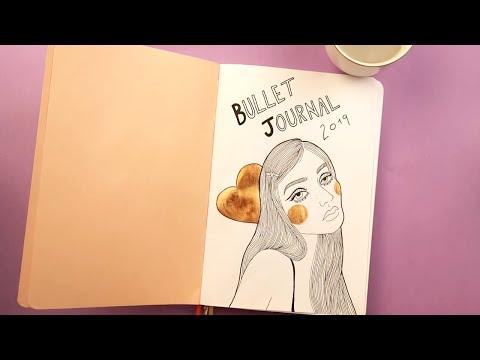 COMEÇANDO MEU BULLET JOURNAL | Nath Araújo