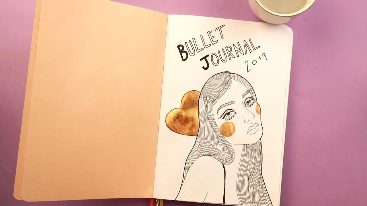 Comecando Meu Bullet Journal Nath Araujo Youtube