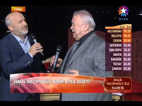 Halil Necipoğlu Ve Amir Ateş - İçimde Bir Dertli Bülbül Öter Yûnûs Yûnûs (Hicaz İlahi)