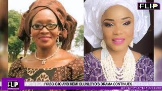 IYABO OJO AND KEMI OLUNLOYOS DRAMA CONTINUES  MERCY AIGBE DENIES GOVERNOR BOUGHT HER HOUSE