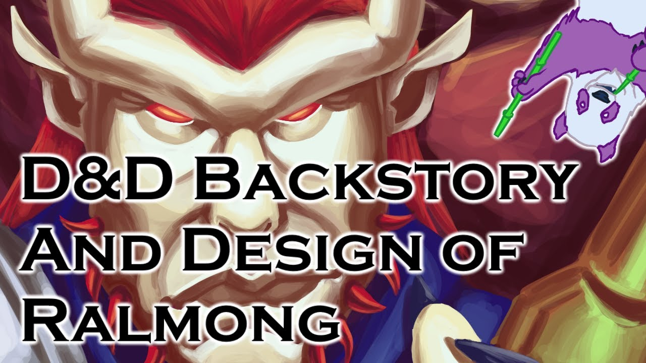 D&D Backstory and Design  Ralmong, the Cleric