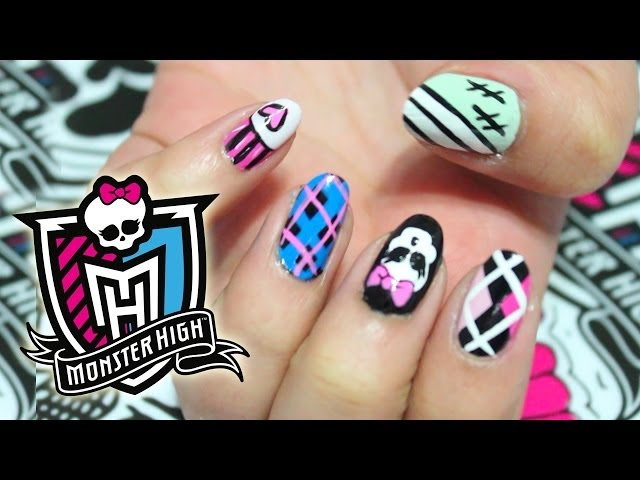 Monster High: Tutorial de Uñas Videos De Viajes