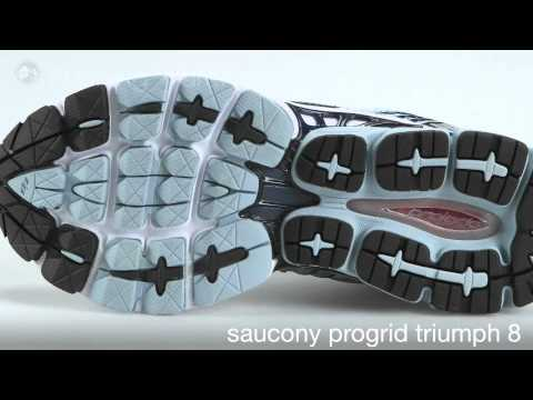 Saucony Progrid Triumph 8 Men YouTube