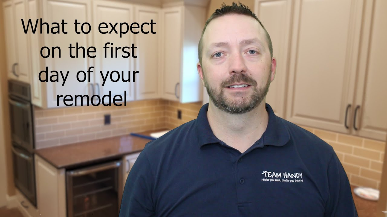 What to expect on the first day of your project.