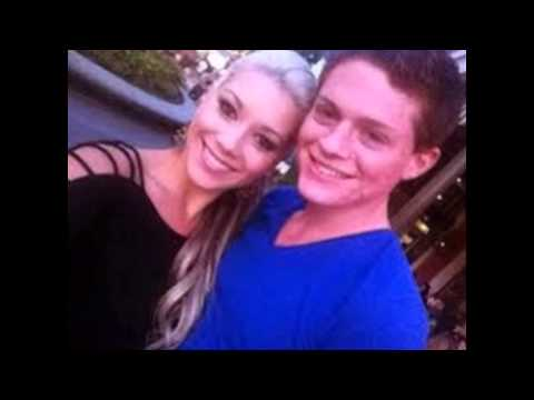 Sean Berdy with girlfriend