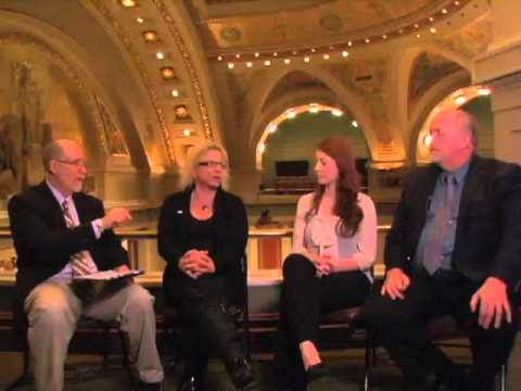 Sarah Janecek, Mitch Berg, and Briana Bierschbach ...