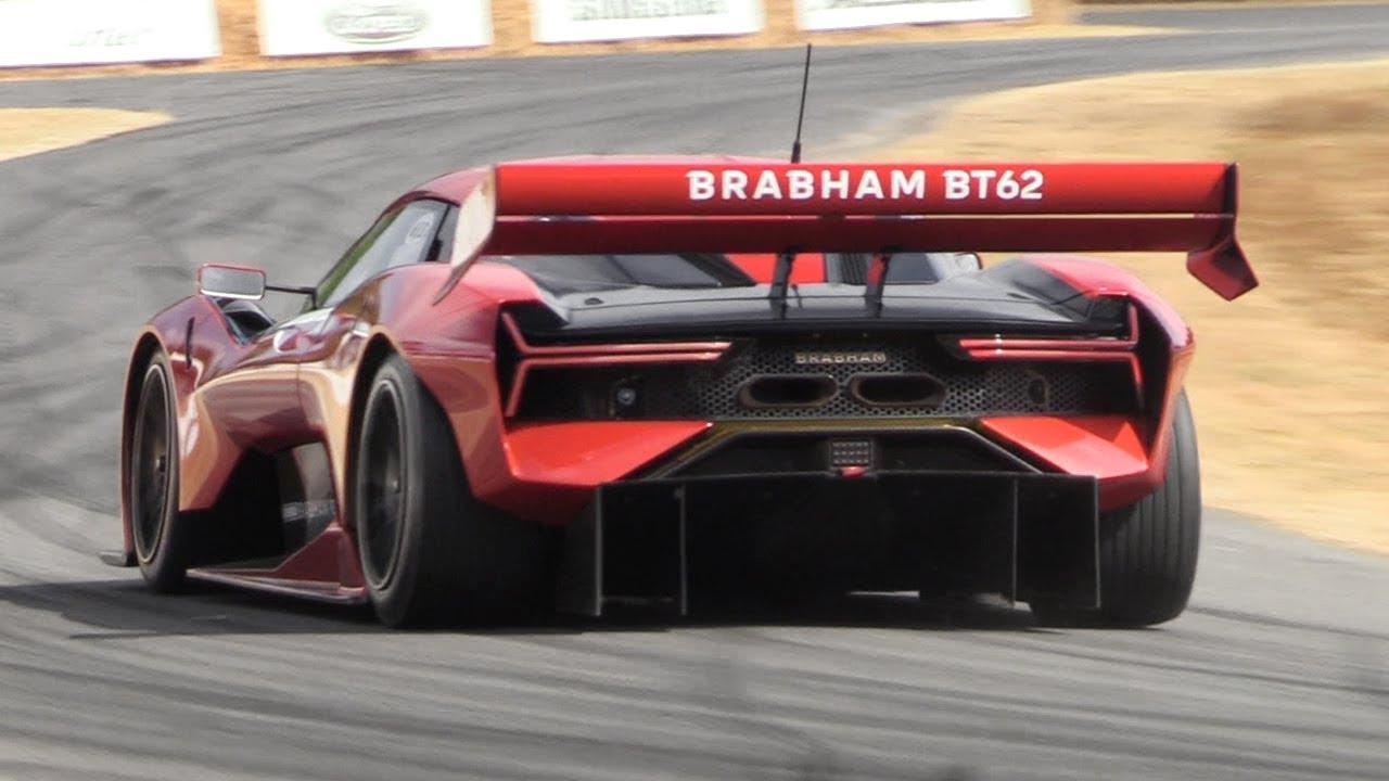 سيارة رياضية خارقة برابهام BT 62R