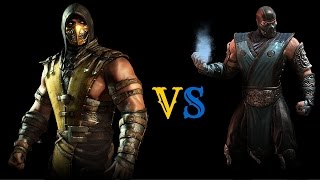 Mortal Kombat X (PS4) Scorpion (Inferno) Online Matches(This online matches against a very formidable Sub-Zero player. I won this set of matches 4-1. This was uploaded to show that I have finally figured out how to ..., 2015-12-09T19:00:37.000Z)
