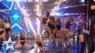 Get ready for Angels Inc. - The Pussycat Dolls of MAGIC! | Auditions | BGT 2019