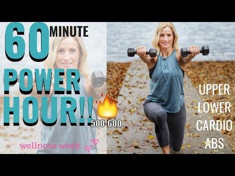 POWER HOUR | Killer Total Body Workout | WELLNESS WEEK