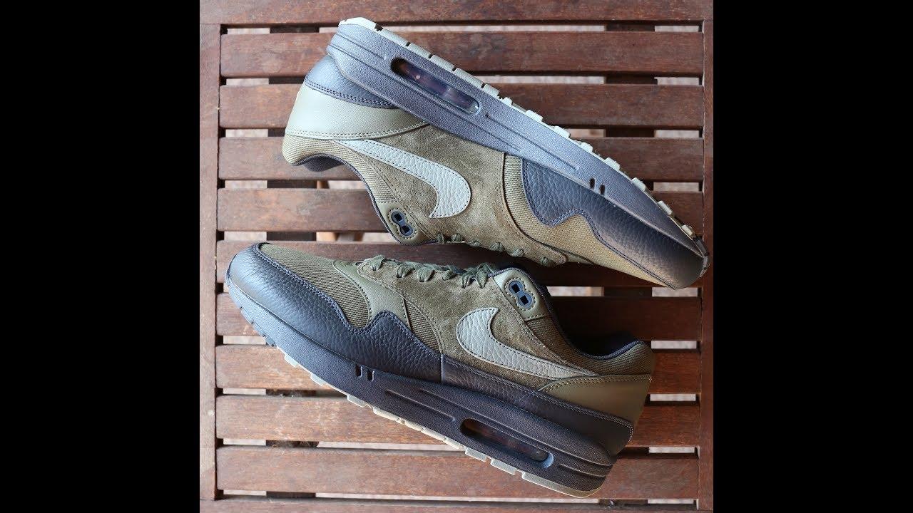 finest selection 6c549 bad91 Nike Air Max 1 Premium Dark Stucco