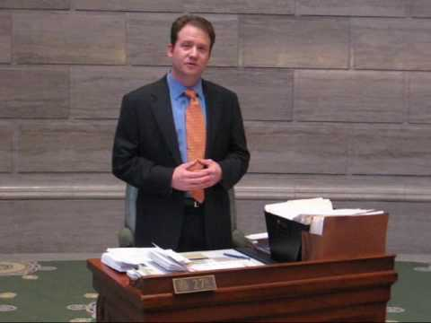 Sen Jason Crowell Report 4 23 09